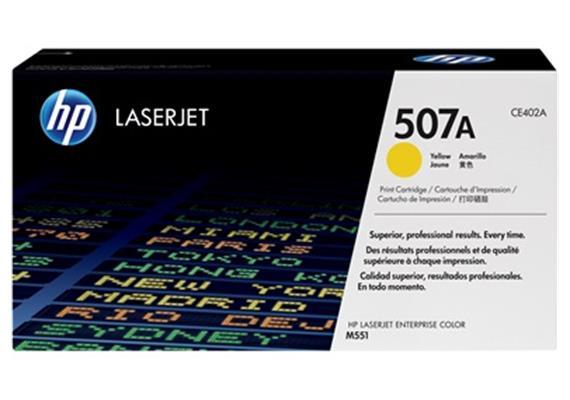 HP Toner 507A - gelb (CE402A) 6'000 Seiten