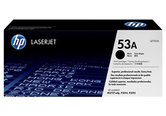 HP Toner 53A - schwarz (Q7553A)