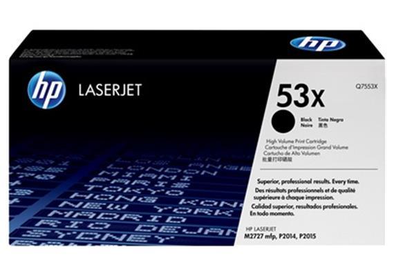 HP Toner 53X - schwarz (Q7553X) 7'000 Seiten