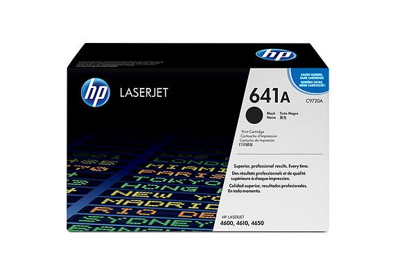 HP Toner 641A - schwarz (C9720A) 9'000 Seiten