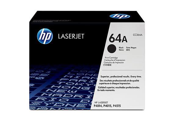 HP Toner 64A - schwarz (CC364A)