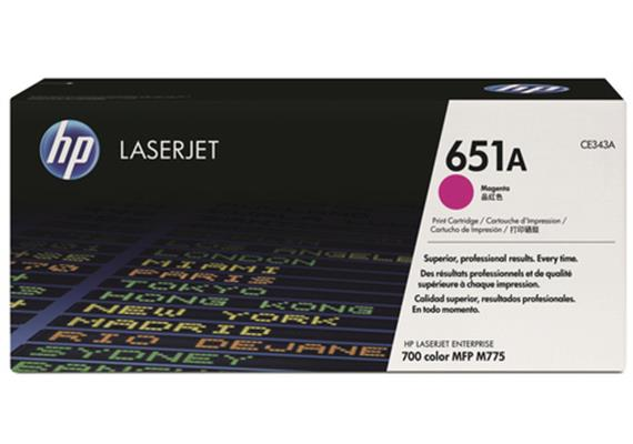 HP Toner 651A - magenta (CE343A)