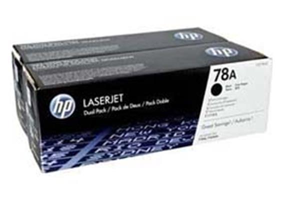 HP Toner 78A - schwarz (CE278AD) 2er-Pack
