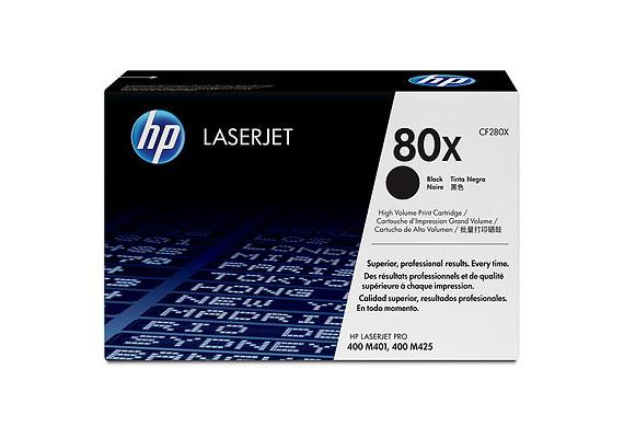 HP Toner 80X - schwarz (CF280X) 6'900 Seiten