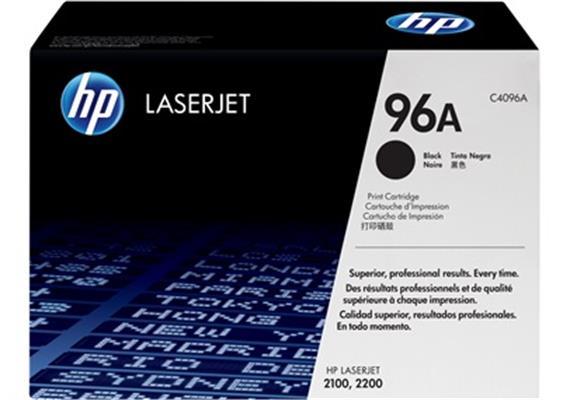 HP Toner 96A - schwarz (C4096A)