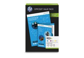 HP Valuepack 953XL CMY (1CC21AE) Prof./AIO Paper A4 25/50 Blatt