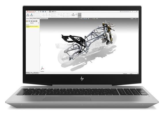 """HP ZBook 15v, 15,5"""", i7, 32GB, 512GB, Win10Pro, P600"""