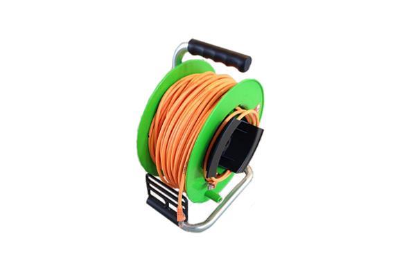 Kabelrolle mit 50m Netzwerkkabel Kat. 7, MIETARTIKEL