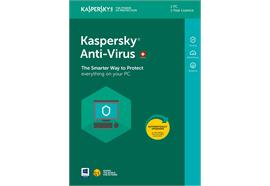 Kaspersky Anti-Virus Vollversion [PC/Mac/Android] (D/F/I) 1 Jahr