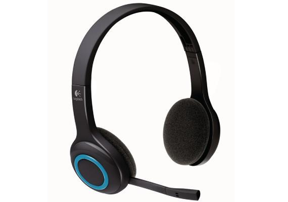 Logitech Wireless Headset H600   halb offen   drahtlos   2,4 GHz