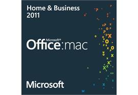 Mac Microsoft Office: mac 2011 Home & Business [1 Mac] (D) Kein Datenträger
