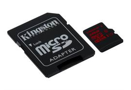 microSDHC Card 32GB Kingston UHS-I U3