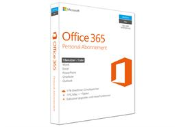 Microsoft Office 365 Personal, Box, Vollversion, 1 User, 1 Jahr