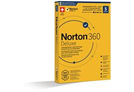 Norton 360 Deluxe Box, 5 Device, 1 Jahr