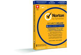 Norton Security Deluxe, 1 User 5 PC [PC/Mac/Android/iOS] (D/F/I)