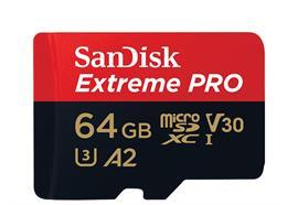 SanDisk microSDXC-Karte Extreme Pro UHS-I A2 64 GB