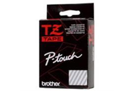 Schriftband Brother P-Touch TZ-111, schwarz/trans. 6mm, zu 220 / 550 / 1250 / 1800E / 9200