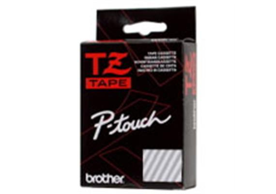 Schriftband Brother P-Touch TZ-431, schwarz/rot 12mm, zu 220 / 550 / 1250 / 1800E / 9200DX