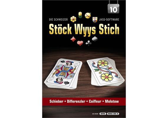 Stöck Wyys Stich 10.0 | für PC/Mac | DE