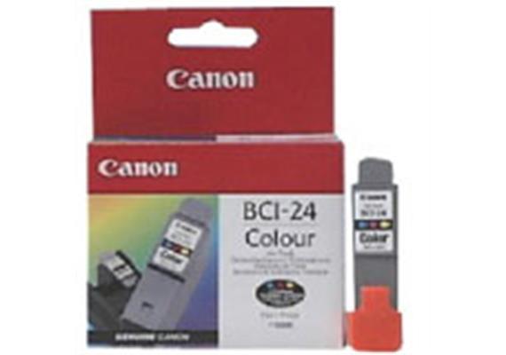 Tintenpatrone BCI-24C farbig PIXMA iP2000/1500/1000 i475D/i470D/i455/i450/i350