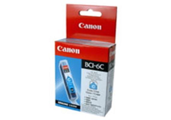 Tintenpatrone CANON BCI-6 C Cyan PIXMA iP8500/6000D/5000/4000/ 3000, MP-780/750, i9950/910