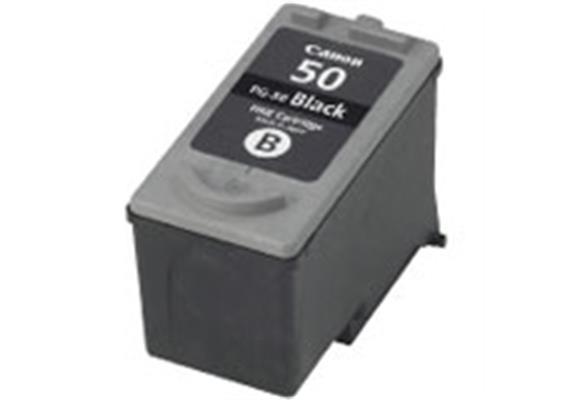 Tintenpatrone Canon PG-50, Patrone schwarz, Canon Pixma MP150/170/450/iP2200, high field