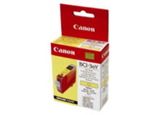 Tintenpatrone, yellow, BCI-3Y Canon BJC-3000/6000/6100