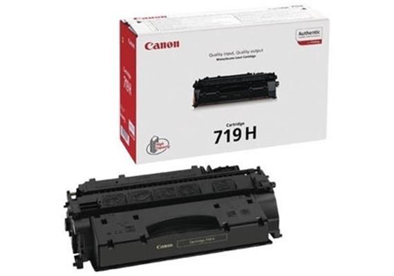Toner Canon 719 H | schwarz | 6400 Seiten | für i-Sensys LBP6300, 6650, 5840, 5940, 5980