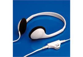 VALUE Headset | Stereo Kopfhörer | Lautstärkeregler | grau