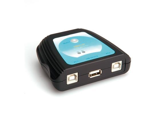 VALUE Manueller USB 2.0 Druckerswitch, 2fach