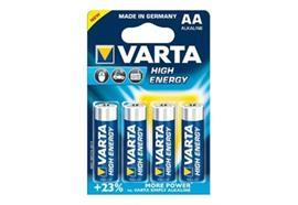 Varta High Energy AAA Batterien, 4er Blister