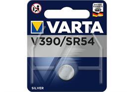 Varta Knopfzelle V390 1 Stück, Batterietyp: Knopfzelle, Verpackungseinheit: 1 Stück