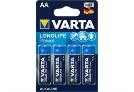 Varta Longlife AA Batterien, 4 Stück