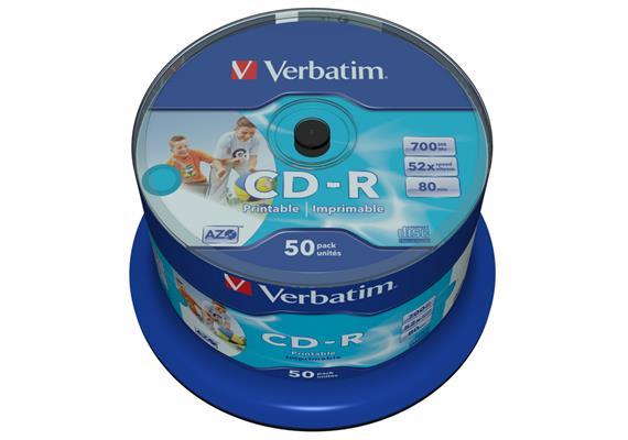 Verbatim CD-R Medien 700 MB 50er Spindel