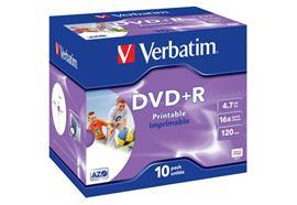 Verbatim DVD+R Medien 4.7 GB 10er Jewelcase